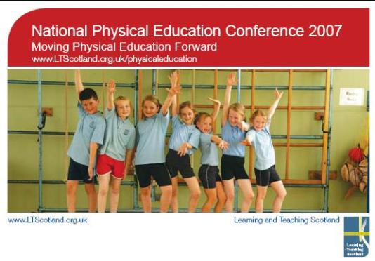 Moving Physical Education Forward 2007
